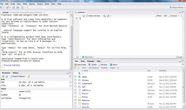 RStudio set-up